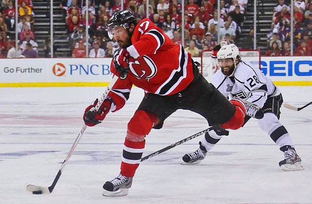 Reportedly hobbled by a back injury, Devils sniper Ilya Kovalchuk had another quiet game, firing only one shot on goal.