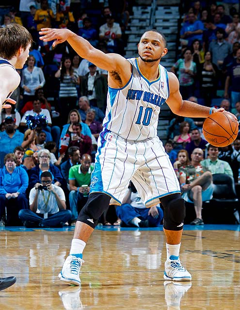 Hornets guard Eric Gordon was the seventh overall pick in the 2008 NBA draft and was unanimously selected to the All-Rookie Second Team. This season, he averaged 20.6 points in nine games. Gordon played on the gold-medal winning U.S. team at the 2010 FIBA World Championship.
