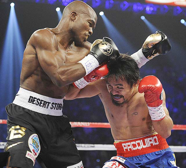 Timothy Bradley got the winning nod on the cards of two of the three judges in this upset victory over Manny Pacquiao.