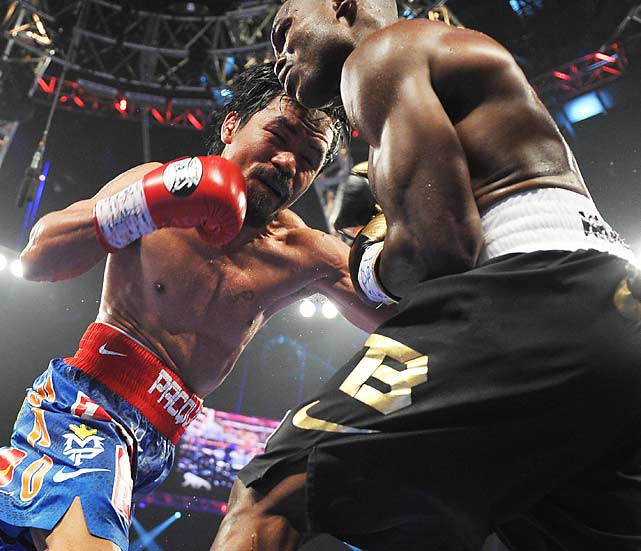 Ringside punching statistics showed Pacquiao landing 253 punches to 159 for Bradley.