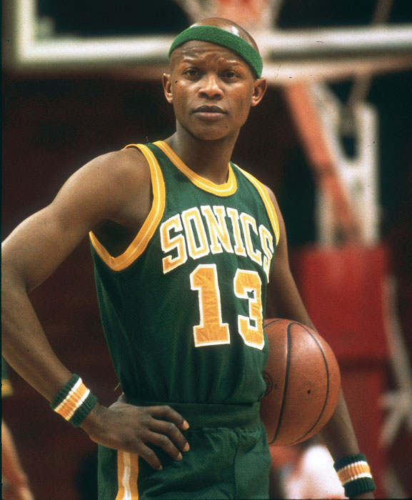 "An NBA mainstay for 41 years before relocating to Oklahoma City and becoming the Thunder in 2008, the Sonics may be on the verge of returning to the NBA. According to reports, the Maloofs are close to selling the Kings to a Seattle-based group, who would move the team back to Seattle for the 2013-14 season. In honor of The Emerald City's hoops fans, here are some classic photos of the SuperSonics.   In this photo, Donald Earl ""Slick"" Watts strikes a pose during a  SuperSonics-Hawks game in 1976. Although he retired after just six NBA seasons with three teams, the undrafted guard signed by Seattle as a free agent after a tryout played an important role and became an NBA All-Defensive first-teamer during the 1975-76 season."