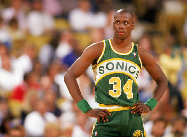 "A fan favorite lauded for his athleticism and versatility, Xavier ""X-Man"" McDaniel was one of the most recognizable Sonics of the 1980s. In the 1986-87 season, McDaniel and teammates Dale Ellis and Tom Chambers each averaged over 19 points per game and surprisingly took the Sonics to the Western Conference Finals, where they would be swept by the Los Angeles Lakers."