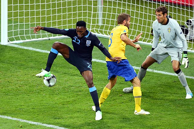 Despite blowing a 1-0 lead, England won the type of game they are known for losing. Danny Welbeck capped an impressive comeback with an astonishing goal off of a back-heel, and the English furiously rallied after Olof Melberg put the Swedes ahead 2-1 in the 59th minute. Theo Walcott played maybe his finest match of his international career, scoring the tying goal in the 64th minute and assisting on Welbeck's go-ahead tally.
