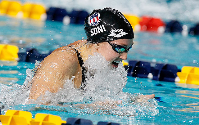 The top breaststroker that the country has to offer, Soni enters the trials with the top marks in both the 100- and 200-meter breaststroke. The three-time Olympic medalist will surely qualify for both events.