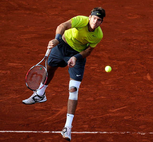 The last player outside the Big Three to win a Grand Slam, Del Potro took a good swing at knocking out Roger Federer in the quarters. The big-serving Argentine took the first two sets before running out of gas and losing in five sets.