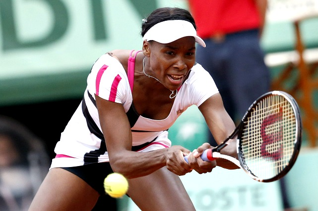 Venus made it farther than little sister Serena, but not by much. She needed three sets to get by Paula Ormaechea in the first round, then was ousted by Agnieszka Radwanska in the second.