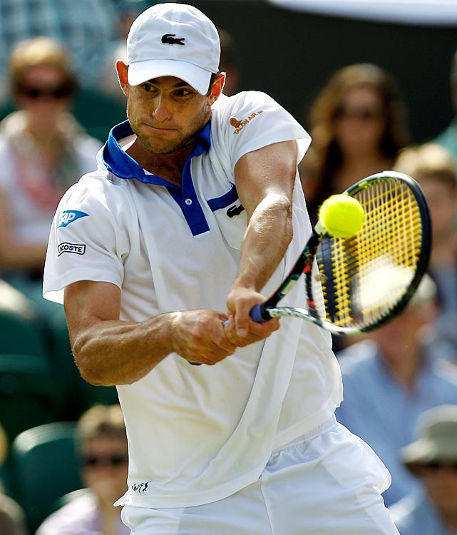 For the first time this season, the former No. 1 player in the world and three-time Wimbledon finalist advanced to the third round of a Grand Slam. Roddick defeated German Bjorn Phau in straight sets in the second round. But the 30th-seeded A-Rod had his hands full with the ATP's fifth-ranked player, David Ferrer. Roddick took the first set before losing 2-6, 7-6 (8), 6-4, 6-3.