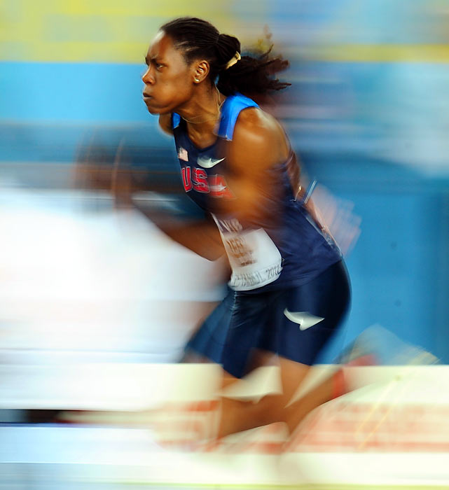 A Gulfport, Miss. resident, Reese is a two-time NCAA long jump champion from Ole Miss, and a four-time world champion. In 2012, the 26-year-old hopes to make the U.S. team and improve upon her fifth-place finish from 2008.