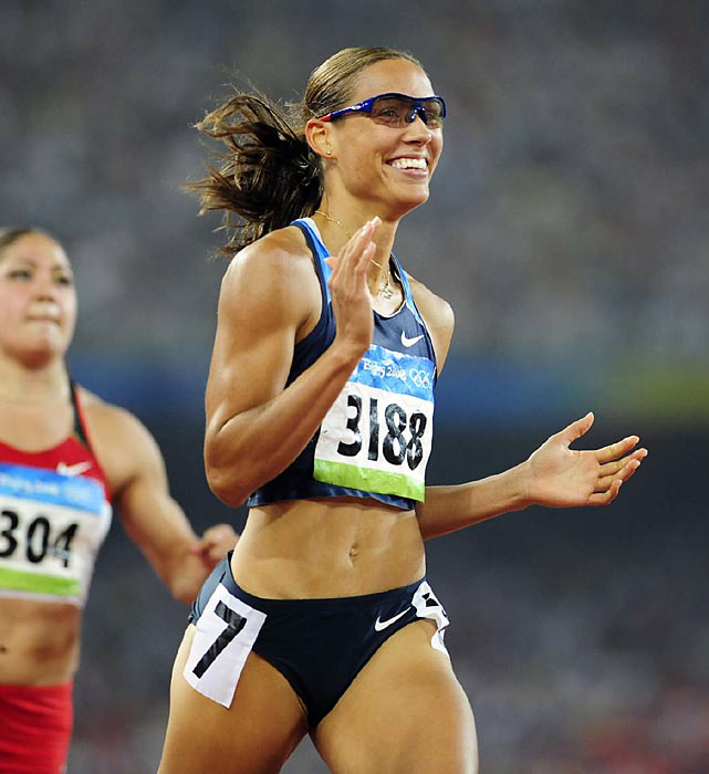 "Favored to win the 100-meter hurdles at the 2008 Beijing Olympics, Lori ""Lolo"" Jones heart-breakingly came up short after tripping on the penultimate hurdle and placed seventh. Come trials, the 2005 graduate of LSU via Des Moines, Iowa, will try to qualify for the 2012 Games in London and recapture talk of a podium finish."