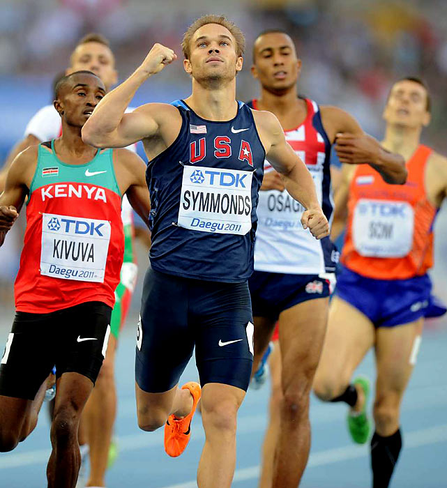 A 2006 graduate of Willamette University, Symmonds is a middle-distance specialist who will compete in the 800. In 2008, the 29-year-old was just edged out of the 800 finals. If he makes the Games, he should compete for a medal.