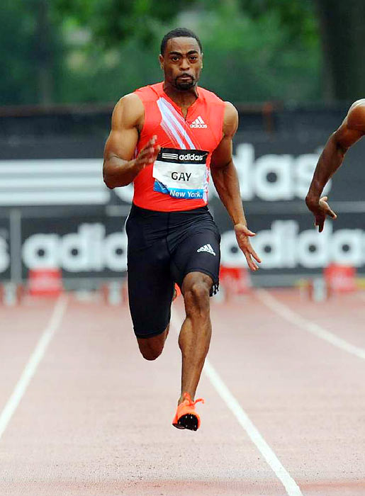 The 29-year-old Lexington, Ky., native is the United States' best hope to push Usain Bolt in the men's 100 meter. The American record holder at 9.69 seconds may have a shot at knocking off the Jamaican, but he'll have to shake off the aches of a repaired hip and make the U.S. team first.