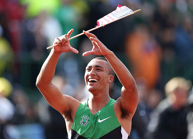 Aston Eaton, 24, is riding high after setting the world record (9,039) in the decathlon at the U.S. Olympic Trials in Eugene, Ore. Long considered a future decathlon star, Eaton will have to prove he can shine away from his home track; in 2011, he dropped off by 224 points between the nationals in Eugene and the worlds in Daegu.