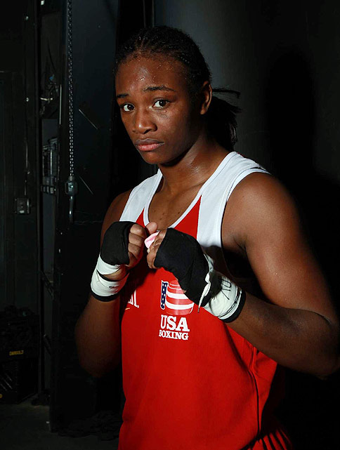 In London, for the first time in Olympic history, women's boxing will be a medal sport. At 17, Claressa Shields is the youngest U.S Olympic boxer in 40 years, and she's a good one, holding a 46-1 record entering the Games. Shields defeated middleweight legend Mary Spencer earlier this year, firmly establishing herself as a viable competitor for the Olympic gold.