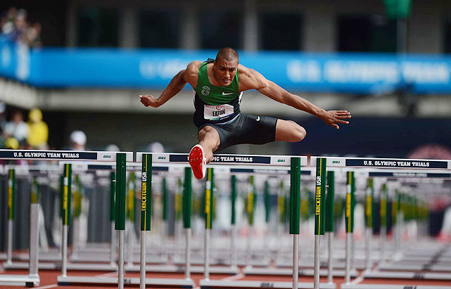 The collegiate track and field athlete of the year in 2010, Eaton's star has only risen since. The University of Oregon product is the clear-cut favorite to win the decathlon after breaking the 11-year-old world record at the U.S. Olympic Trials in June. Anything less than gold for the 24-year-old would be a bit of a surprise.