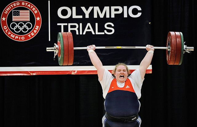 At 5-foot-8, 350 pounds, the 22-year-old weightlifter will compete in her first Olympics in London in the superheavyweight division. The little sister of New York Jets center Nick Mangold won the junior nationals at 18, after just three months participating in the sport. Her combined clean-and-jerk and snatch personal record of 562.2 pounds will likely not be enough to put her in contention for a medal -- 719 is the women's record -- but she will certainly be an American to watch, especially in her home state of Ohio.