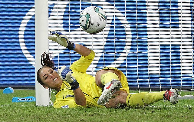 The best goalkeeper at the 2011 World Cup returns as the No. 1 netminder for the United States. She made headlines earlier this month for a positive drug test, but, due to the nature of the substance, she remains eligible to play in the Olympics. After a disappointing second-place finish in the World Cup, Solo and Team USA have revenge on their mind, and the Olympics should prove to be the prime place to secure reprisal.