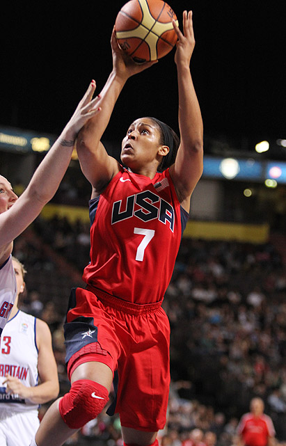 One of the best female basketball players on the planet, the 23-year-old Moore will make her Olympic debut in London. The Minnesota Lynx player, who was taken No. 1 overall in the 2011 WNBA draft, will play under former UConn coach Geno Auriemma while on the court for the heavily favored American team.