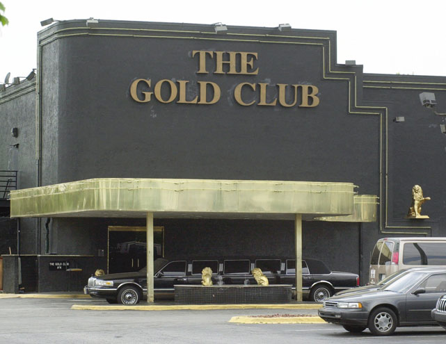 In the famous Atlanta-based Gold Club case from 2001, a federal racketeering investigation revealed that basketball players Patrick Ewing, Dennis Rodman, Jerry Stackhouse, John Starks and other members of the Knicks agreed to visit the club in return for sexual favors from dancers. NFL running backs Jamal Anderson and Terrell Davis as well as professional wrestling promoter Eric Bischoff were also alleged to have patronized the club for such illegal services.