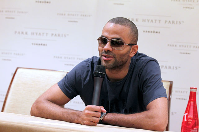 In June, Parker found himself in the middle of a bottle-throwing brawl between the entourages of hip-hop artists Drake and Chris Brown at New York City nightclub W.i.P. Parker, who is friends with Brown, was caught in the middle and suffered a damaged retina that required surgery after a shard of glass penetrated his left eye. The injury called into question the NBA All-Star's availability for France's Olympic team, but he was ultimately cleared to play in early July. A $20 million lawsuit that the 30-year-old Parker filed against the club still stands.