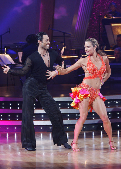 "During her swimming hiatus, Coughlin appeared on ""Dancing with the Stars"" in 2009 with partner Alec Mazo, and competed in the first five episodes."