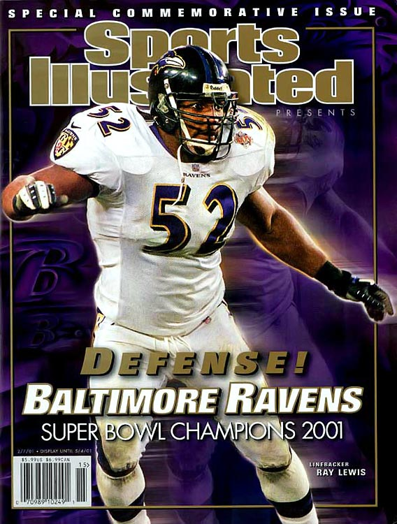 The Ravens inspirational leader is a two-time NFL Defensive Player of the Year (2000 & '03) and Super Bowl MVP. In 16 seasons with Baltimore, Lewis has made 13 Pro Bowls, including First-Team All-Pro seven times.      Runner-up:   Mike Webster    Worthy of consideration:    Robert Brazile, Frank Gatski, Ted Johnson