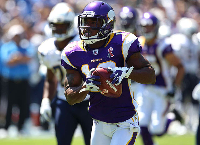 Percy Harvin made headlines when he reportedly asked to be traded from the Vikings for a multitude of reasons. Many speculate that Harvin, the Vikings' star receiver, is dissatisfied with his salary. Regardless of the reason, Harvin missed part of a Vikings minicamp before returning. Given his reported unhappiness, and a lingering shoulder injury, Harvin is a bit of a wild card for training camp, and the Vikings need him on on offense devoid of playmakers, especially if Adrian Peterson isn't healthy to start the season.
