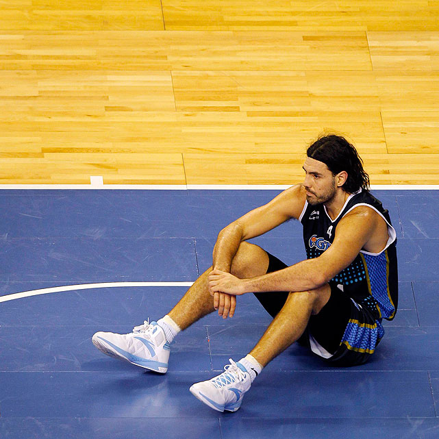 Recent Phoenix Suns import Luis Scola reflects after the 86-80 loss. The versatile forward finished with 14 points.