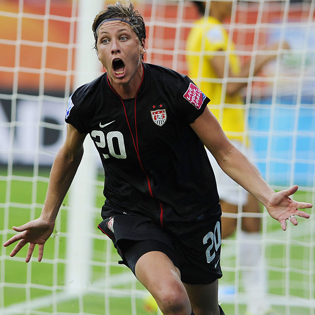 Will this be the final Olympics for Wambach? The 32-year-old striker scored the game-winning goal in the final of the 2004 Olympics and then missed the 2008 Olympics with a broken leg. She'll look to lead America to its fourth gold medal (and third straight) in five women's Olympic tournaments.