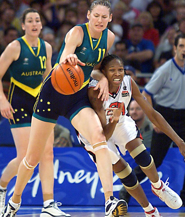 The three-time WNBA MVP was a member of the Canberra Capitals of the WNBL in Australia when she competed in her first Olympics as a 19-year-old. Jackson had 20 points and 13 rebounds in the gold-medal game, a 76-54 loss to the U.S. Jackson and the Aussies are likely looking at a fourth straight silver medal at the London Olympics.