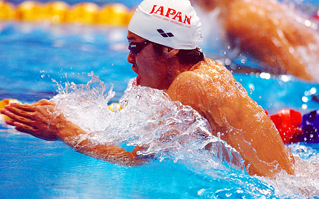 Kitajima swept the breaststrokes at the 2004 and 2008 Olympics and could do the same in London. He was 17 at the 2000 Olympics, fourth in the 100 breast and one hundredth of a second shy of making the semifinals in the 200 breast.
