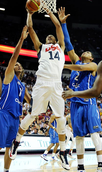 Perhaps the most anticipated college player to play on the national team since Christian Laettner, Davis was called up to replace an injured Blake Griffin. Expectations will be very high for the teenage phenom since the USA lacks any significant frontcourt depth. Davis's soft touch and astounding footwork are what made him the top pick in June's NBA draft, but he will now have to adjust to a different style of basketball and guard several proven professional big men.