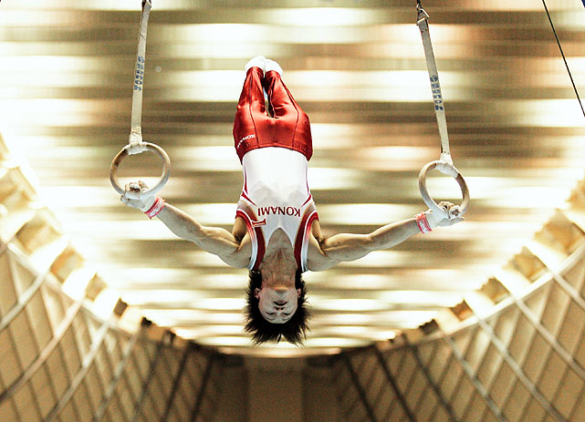 The Japanese artistic gymnast, who has won the last three all-around world titles, is the gold medal favorite in London.  In the 2008 Beijing Olympics he won the all-around silver medal, and another silver in the team event.