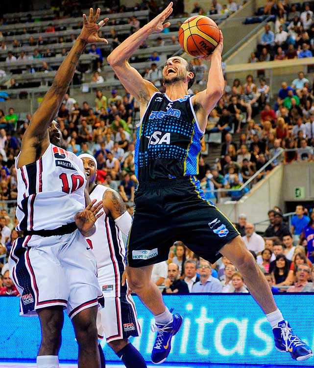 A longtime NBA star for the San Antonio Spurs, Ginobili is the centerpiece of a very talented Argentina team, which has medaled (gold in 2004; bronze in 2008) in the previous two Olympics.  It will likely be the 34-year-old's last Olympic Games.