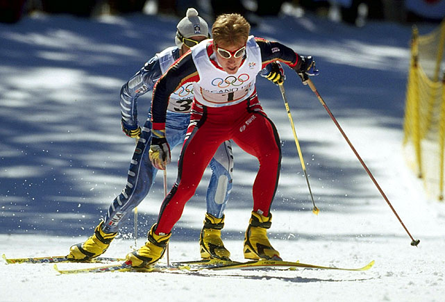 Daehlie is the only Winter Olympian on this list, and the most successful cross-country skier in history.  The Norwegian's 12 medals don't include a single bronze.  Even though Daehlie retired from the sport at a shockingly early age, he is still renown for being the most successful Winter Olympian of all-time.