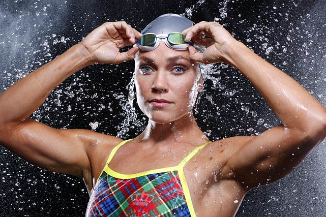 U.S. swimmer Natalie Coughlin increased her medal count to 12 just recently in London in the 400m freestyle relay.  It was her only race of the games after failing to make the team in an individual event.