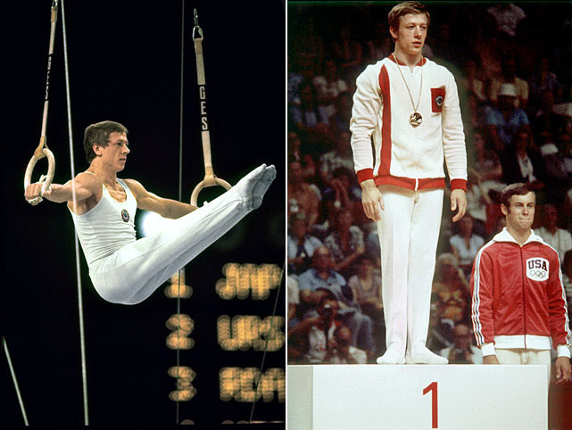 Andrianov began his Olympic venture eight years after fellow Soviet Union gymnast Latrisa Latynina hung it up.  Over the course of three Olympics, Andrianov won 15 medals, seven gold.