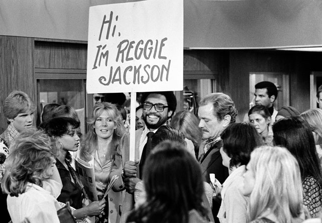 Jackson is the center of attention during a 1979 cameo on The Love Boat.