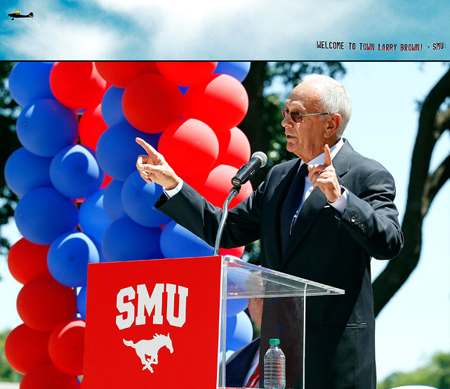 Southern Methodist University shocked the college hoops world when it announced former NBA coach Larry Brown as its new man in charge. The 71-year-old Brown has not coached at the college level since 1988, but did reach the NCAA tournament seven times. Brown has already raised eyebrows with a number of player cuts.