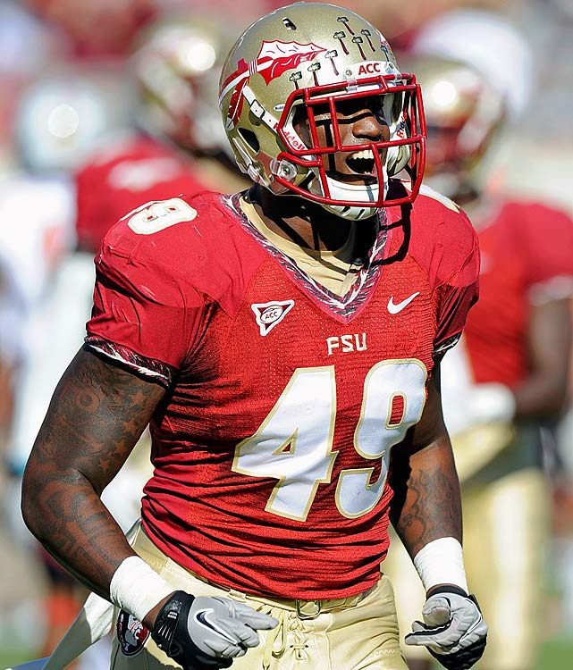 Jenkins has racked up 21.5 sacks and 36.5 tackles for loss in his career.