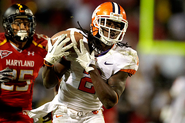 The speedster led all freshmen in receiving yards, touchdowns and all-purpose yards in 2011.