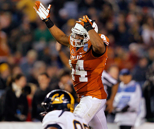 The 6-foot-5, 250-pound Jeffcoat showed high-round NFL potential at right end in 2011. His eight sacks and 17 tackles for loss last season are the most of any returning player in the conference.