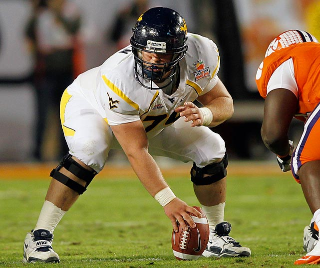 Madsen has started all 38 games of his WVU career, helping to pave the way in 2011 for a Mountaineers offense that averaged 37.6 points per game.