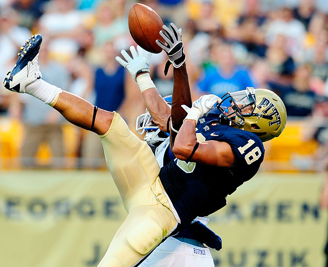 A three-year starter in the Pitt secondary, Holley was second on the Panthers with 67 total tackles last year.