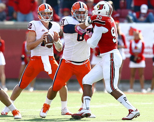 The leader of the Syracuse line, Pugh started every game the last two seasons for the Orange.
