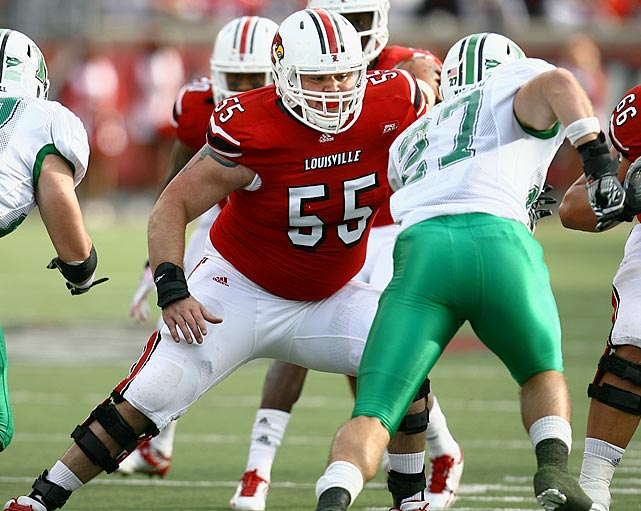 The senior is a staple of the Louisville offensive line, starting 34 of 38 games in his three-year career. Benavides slimmed down in the offseason to add to his agility and conditioning.