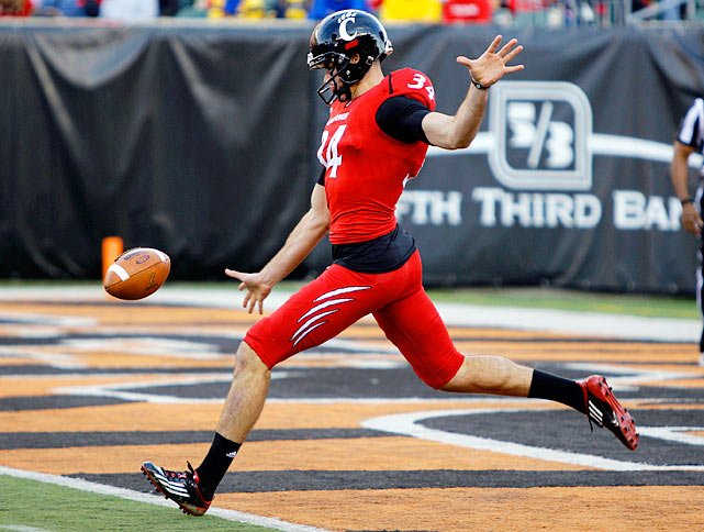 O'Donnell helped the Bearcats lead the Big East in net punting in 2011 with his 43.8 yards per kick.