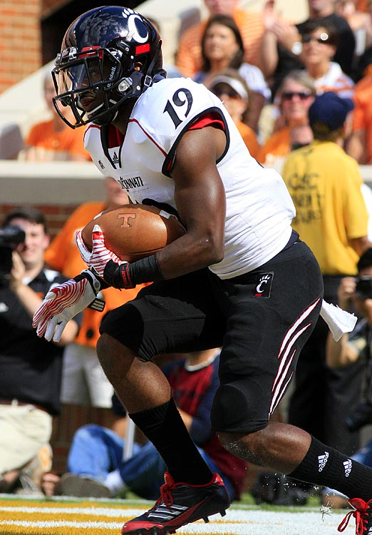 His 90-yard kick return in the fourth quarter helped Cincinnati overtake Vanderbilt in the AutoZone Liberty Bowl.
