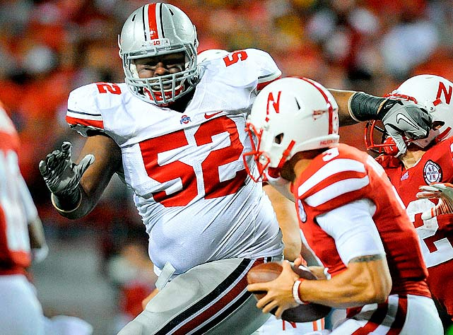 The 6-foot-3, 317-pounder had 67 tackles (11 for loss) during his breakout 2011 season.