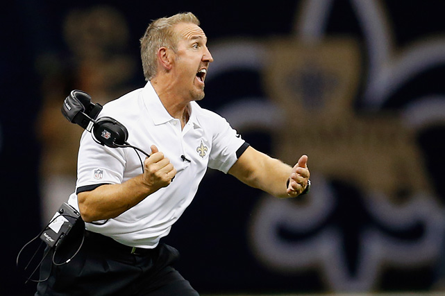 """Of all the ex-head coaches hired by new teams as an assistant (see Tony Sparano with the Jets, Raheem Morris in Washington, Todd Haley in Pittsburgh, Jim Caldwell in Baltimore, Jack Del Rio in Denver and Todd Bowles in Philadelphia), making the biggest impact will be Saints defensive coordinator Steve Spagnuolo. His presence in New Orleans will benefit the Saints more than Sean Payton's absence hurts, with the man they call """"Spags'' boosting his suspension-depleted defense (24th ranked in 2011) into the league's top 10."""