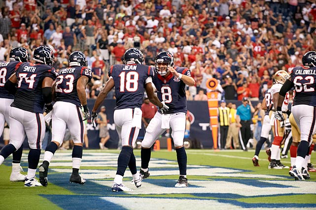 With a strong comeback season from quarterback Matt Schaub in a contract year, and even more disruptive young talent on defense in the form of rookie outside linebacker Whitney Mercilus, the Texans will build solidly on the success of 2011, winning the AFC South again and returning to the playoffs. Once there, with a healthy Schaub this time, Houston will make some serious postseason noise (that's called a teaser for my Super Bowl pick, due out at SI.com Tuesday).